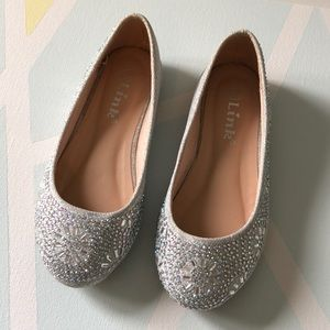 Other - NWOT Super Sparkly Girls Flats/Shoes